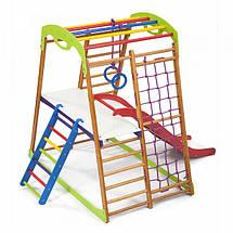 Детский спортивный комплекс для дома BabyWood Plus 2, фото 3