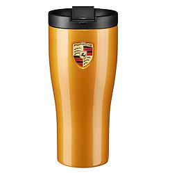 Термокружка Porsche golden yellow metallic золотистая (WAP0506240L)