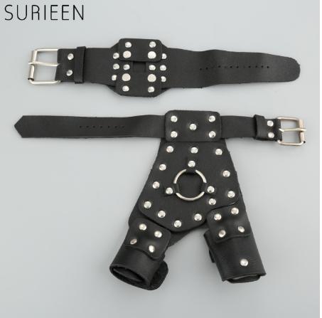 Рукавички захисні для рук + захисний браслет для риболовлі, стрільби з рогатки, ліва / права