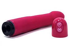 Вибратор реалистичный 22 см Real Vibration M Marc Dorcel Розовый, фото 3
