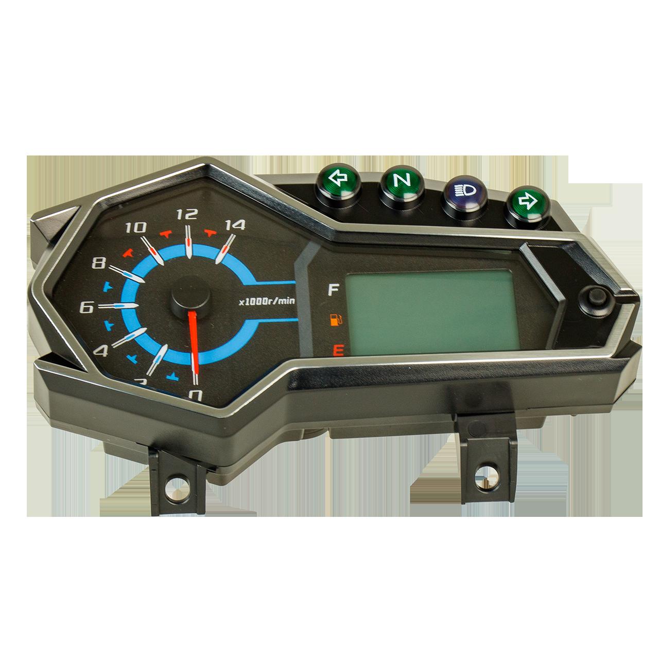 CR1S  JL200-68A  Панель приборов, LCD спидометр - 281371244-0001