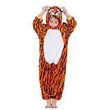 Пижама кигуруми Тигренок цельная детская пижама комбинезон кигуруми, фото 2