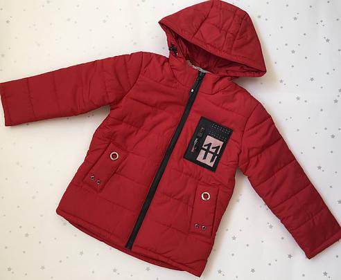 Детская  демисезонная куртка для мальчика Юрчик, 110-128, фото 2