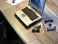 Коврик под ноутбук для защиты стола прозрачный 41х70см. Толщина 1,5мм