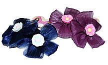"""Детские резиночки для волос """"цветы"""" 10 пар"""