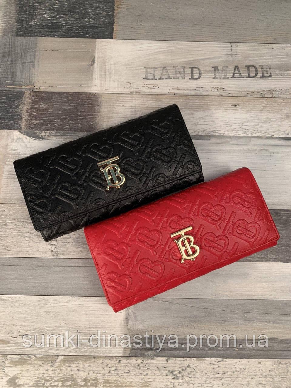Burberry кошелек кожаный женский 3995