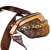 Сумка поясная, нагрудник, бананка клатч Луи Витон Bumbag Monogram, фото 2