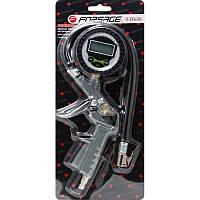 Пистолет для подкачки шин с цифровым манометром и шлангом, в блистере F-STG-25 К:26084