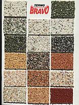 Все цвета в наличии Мозаичная штукатурка ТермоБраво 25кг, фото 2