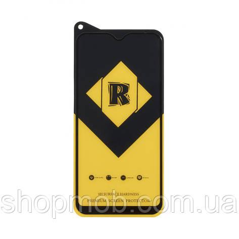 Защитное стекло R Yellow Premium for Samsung A01 Цвет Чёрный, фото 2