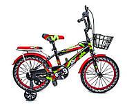 """Детский велосипед 16 """"SHENGDA"""" GREEN T12, РУЧНОЙ И ДИСКОВЫЙ ТОРМОЗ Гарантия качества Быстрая доставка, фото 2"""