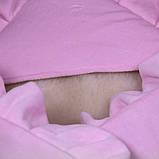 """Зимний набор на выписку """"Мария+Brilliant Baby"""" розовый, фото 4"""