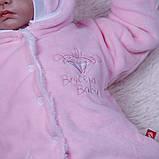 """Зимний набор на выписку """"Мария+Brilliant Baby"""" розовый, фото 7"""