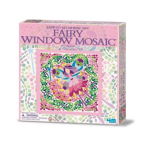 Набор для творчества 4M Мозаика на окно (в ассорт. фея/русалка/принцесса) (00-04565)