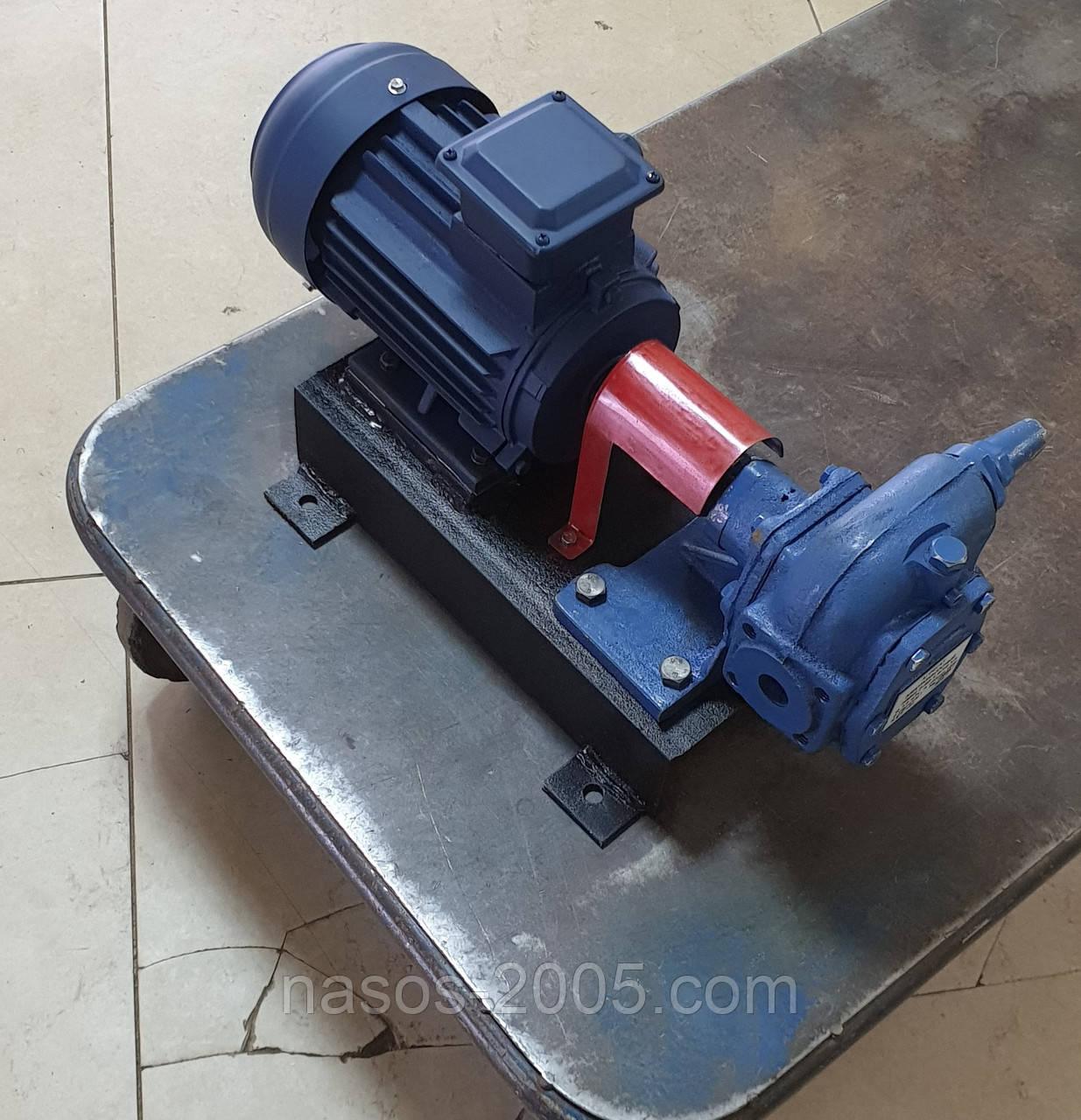 Насос НМШ 32-10-18/10Б шестеренный насос НМШ32-10-18/10Б для масла