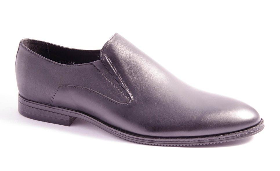 Туфли мужские черные Mida 111660