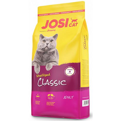 Корм для кошек (Джозера) JOSERA Classic 10 кг - для взрослых кошек с рыбой