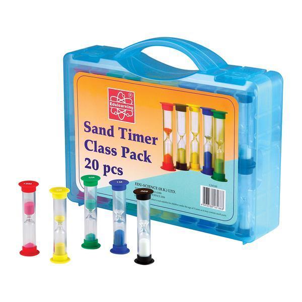 Обучающий набор Edu-Toys Песочные часы на класс, 20 шт. (GM188)