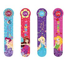 """Закладинки пластикові для книг """"Pretty Girls"""" (4шт.)"""