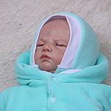 """Зимний набор на выписку """"Мария+Brilliant Baby"""" ментоловый, фото 4"""