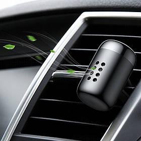 Ароматизатор для автомобіля сольовий Baseus Little Fatty 5шт. картриджів SUXUN-PDA01 - Black