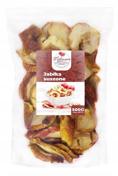 Яблоки сушеные, Яблочные чипсы 500 грамм, Malinowe