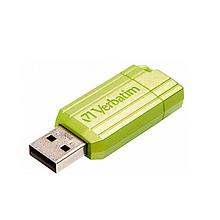 Флеш-пам'ять VERBATIM PinStripe 32GB, USB 2.0, Euc Green