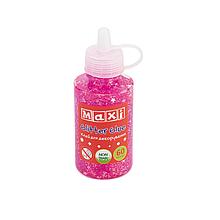 Клей для декорування з конфетті, 60 мл, рожевий