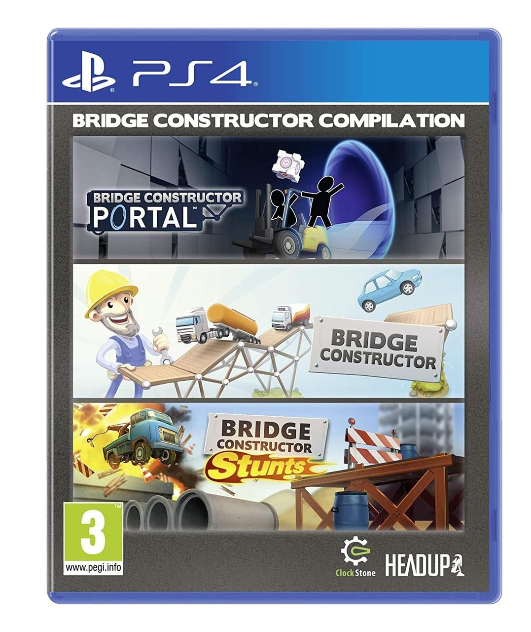 Bridge Constructor Compilation (Англійська версія) PS4