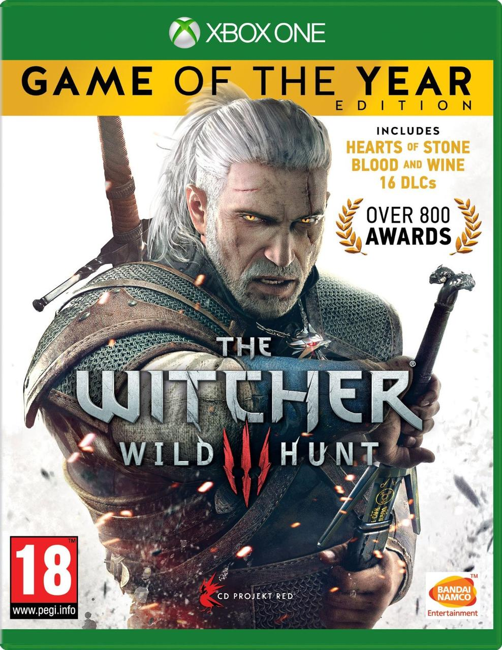 Ведьмак 3 Дикая Охота GOTY Edition (російська версія) Xbox One