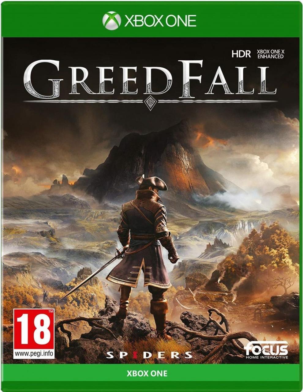 GreedFall (русские субтитры) Xbox One