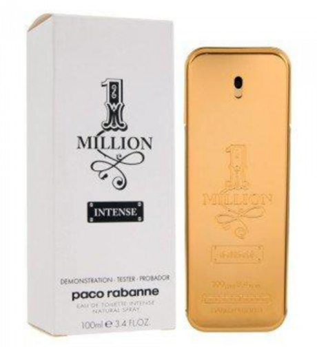 Тестер мужской Paco Rabanne 1 Million Intense EDT, 100 мл