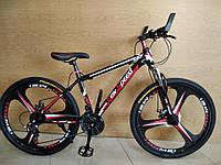 "Велосипед горный New Speed / Black Red 3k 26/"" на литых дисках на рост 150 - 180см"