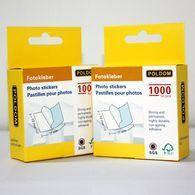 Фотоскотч 1000 штук для крепления фотографий в традиционный фотоальбом poldom photo stickers 1000