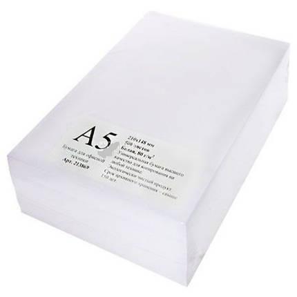 Папір для лазерного друку Maestro Standard+ А5, 80г/м2, 500арк. класB, фото 2