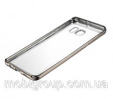 Чехол силиконовый с бампером под металлик Samsung J510