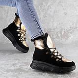 Ботинки женские зимние FashionTaddle2219 37 размер 23,5 см Черные, фото 2