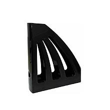 Лоток для паперів вертикальний, ЛВ-03, чорний(КІП)