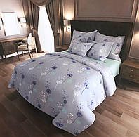 Качественное постельное белье, семейка, голубой одуванчик