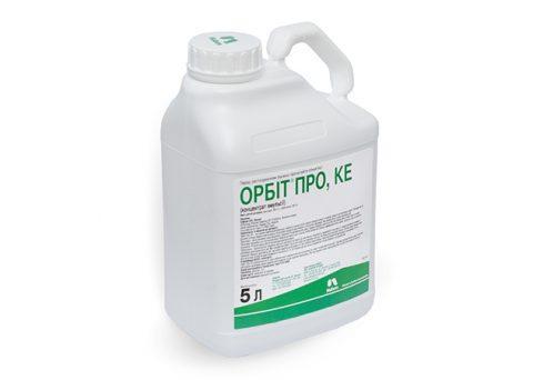 Фунгицид Орбит Про системный против болезней зерновых Nufarm 5 л