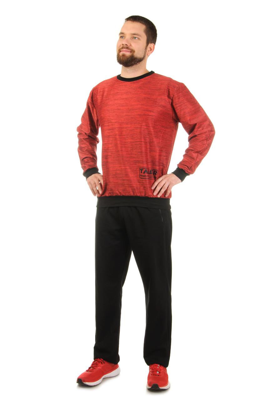 Мужской трикотажный спортивный костюм Tailer штаны + кофта, размеры 48-56 (270)