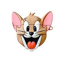 Чехол Tom & Jerry series (+ карабин) к наушникам Apple AirPods (Jerry)