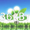 Сетевая солнечная наземная станция 36/30 кВт (KDM + Growatt)
