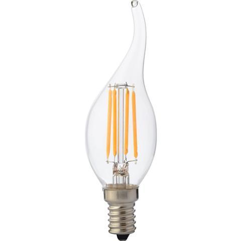 """Лампа Светодиодная """"Filament flame - 4"""" 4W свеча на ветру Е14 4200К"""