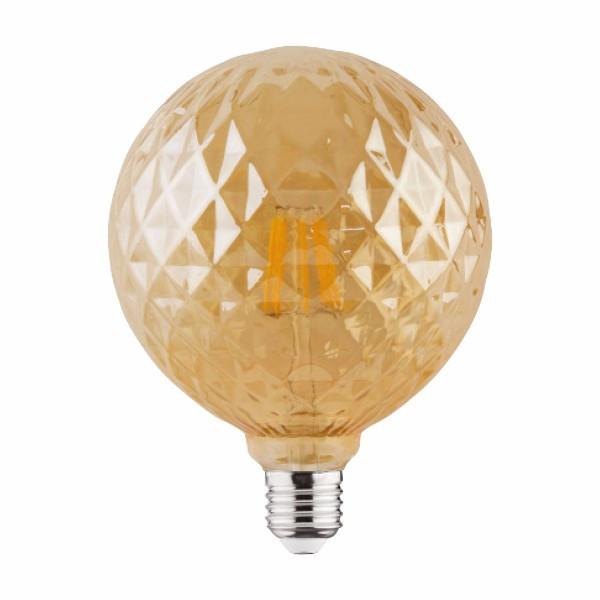 """""""RUSTIC TWIST-6"""" 6W 2200К  E27 лампа светодиодная Horoz Electric Filament led"""