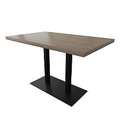 Стол Тренд 1 двойной 120 см основа 8 мм Металл-Дизайн Лофт