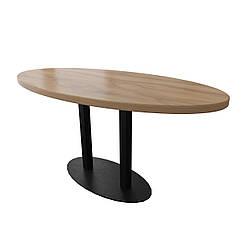 Стол Тренд 2 двойной 120 см основа 8 мм Металл-Дизайн Лофт