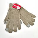 Жіночі стрейчеві рукавички кольорові (продаються тільки від 12 пар), фото 4