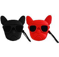Чехол Bulldog (+ карабин) к наушникам Apple AirPods