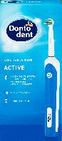 Электрическая зубная щетка Dontodent Akku-Zahnbürste Active, Blau, фото 1